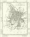 HAUTES- PYRNES: Hautes- Pyrnes dpartement. Tardieu, 1830 antique map